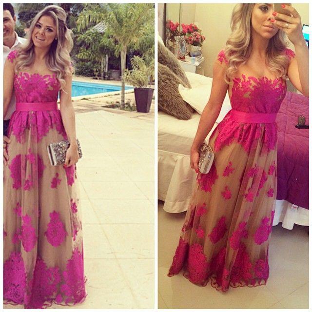 mamãe iria ficar linda neste vestido