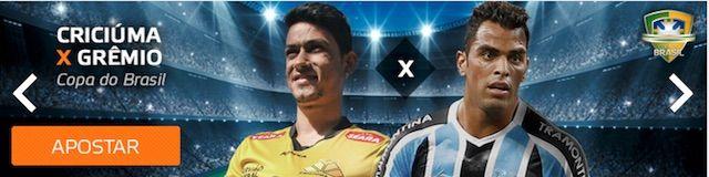 Apostas e cotas: Criciúma x Grêmio em Betmotion Sports
