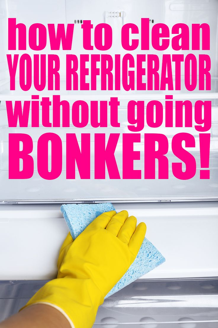 'How to Clean the Refrigerator - Self Cleaning Home Part 7...!' (via The Bold Abode)