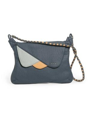 CB680  SKUNKFUNK women's accessory: bag  season: fall winter 11  fabric content: 100% polyurethane  colors: brown,blue,grey    price: $60.00