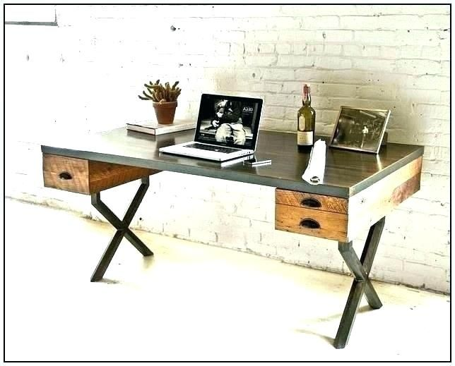 Wood Home Office Desk Gallery Of Wood Home Office Desk Ideas For