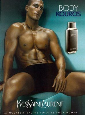Body Kouros by Yves Saint Laurent.