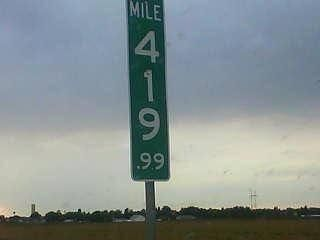 """This is what they had to do in Colorado to stop stoners from stealing the """"420"""" marker. Well played."""