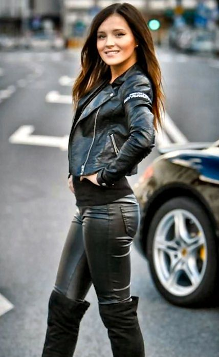 Leather Leggings Babes