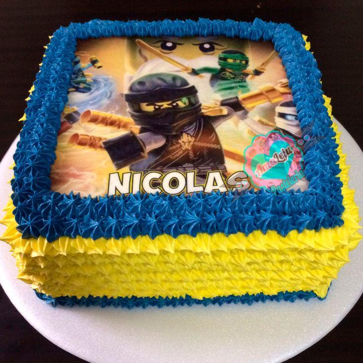 Torta Lego Ninjago Realiza tu pedido por; https://goo.gl/mvYBYv WhatsApp: 3058556189, fijo 8374484  correo info@amaleju.com.co Síguenos en Twitter: @amaleju / Instagram: AmaLeju #legoninjago