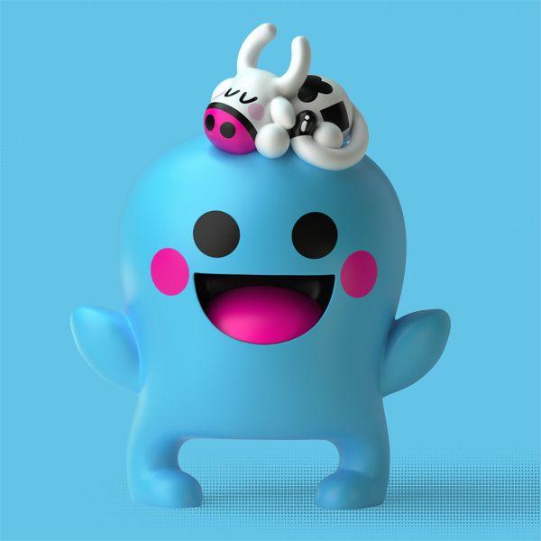 the barbatronics - ridiculously cute designer toys