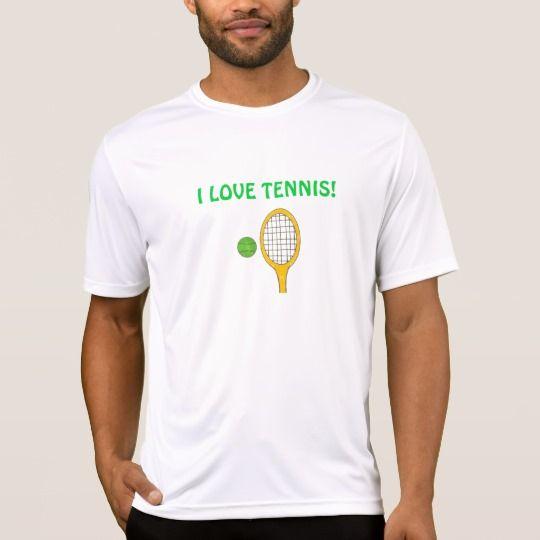 Eu amo o tênis! camiseta