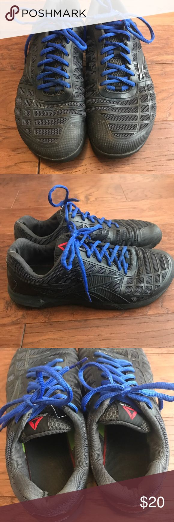 Reebok Nano 3 Crossfit shoe Mens Black 11 sneaker These are in used condition and priced accordingly. Still have life in them, just clearing out the closet. Smoke free home and I ship FAST! Reebok Shoes Athletic Shoes