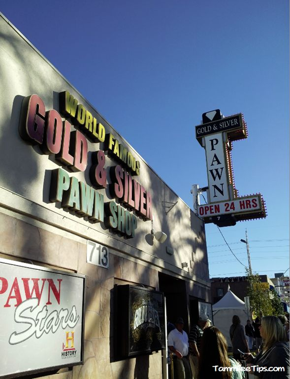 Gold and Silver Pawn Shop from Pawn Stars Las Vegas This was fun, but nothing like what you see in the show.