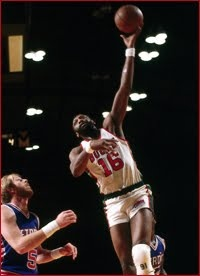 When Bob Lanier hung up his basketball shoes in 1984 after 14 years in the NBA, the eight-time All-Star joked that he did so only because the Milwaukee Bucks had finally found in Alton Lister another player who literally could fill his sneakers. It was no small feat: like Lanier, Lister took to the court in size 22s. One of the game's greatest big men, Lanier was actually preceded into the Hall of Fame by a bronzed pair of his shoes, the biggest the NBA had ever seen.