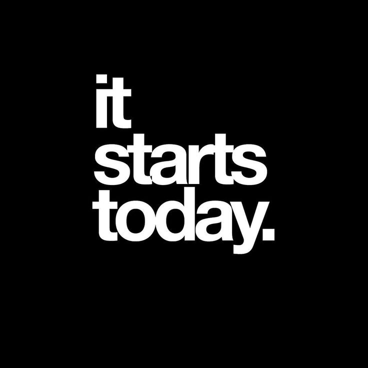 We are always waiting for tomorrow, when really, all we have promised is today. So let's start now.…