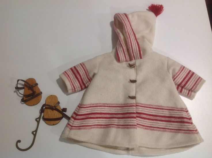 Pleasant Company American Girl Doll Clothes Kirsten Ice Skating Outfit #AmericanGirl