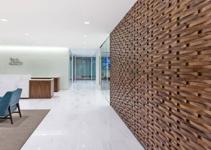 """Wall Paneling and Siding Pure Wood Studio offers an extensive range of innovative Wall Covering options. Adding another dimension to a space with natural wood elements is a great way to bring the outdoors inside, whether it is a striking modern Wood Feature Wall in an Entrance Lobby or an eye-catching composition of wood """"Artwork"""".... View Article"""