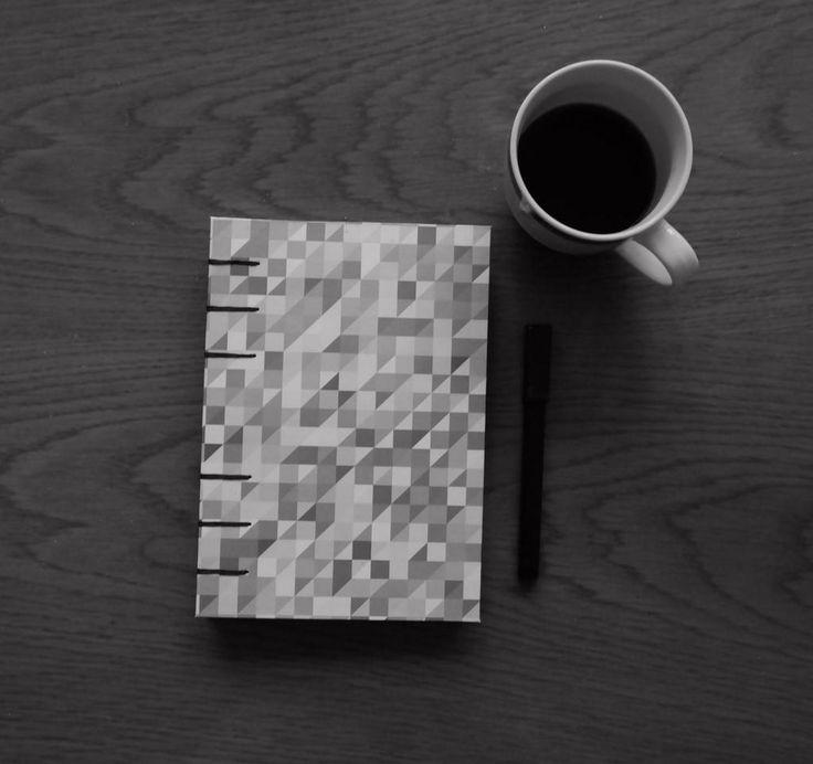 #de7tasarim #handmade #blackandwhite  choice of the rainy day, handmade grayscale notebook yağmurlu sabahın seçkisi https://t.co/q5GMNzo227 http://t.co/5CPjt94esh