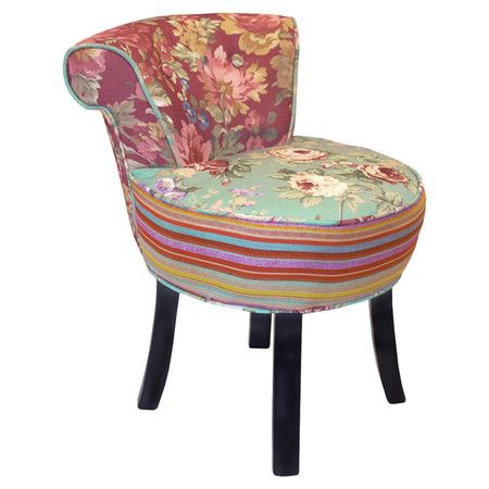 Found it at Wayfair.co.uk - Rose Slipper Chair II in Mint & Coral