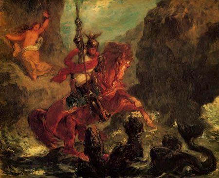eugene delacroix essay In the painting entitled liberty leading the people by delacroix, images are  related to the human world as well as the natural world on the top of the painting .
