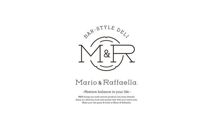 Mario&Raffaella. ロゴ