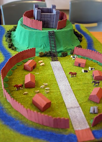motte and bailey castles school - Google Search
