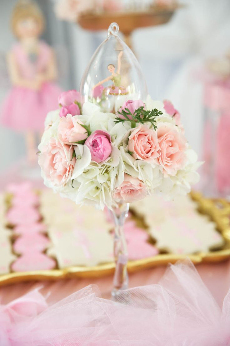 Tu-Tu Cute Celebration- {A Ballerina Themed First Birthday Party}
