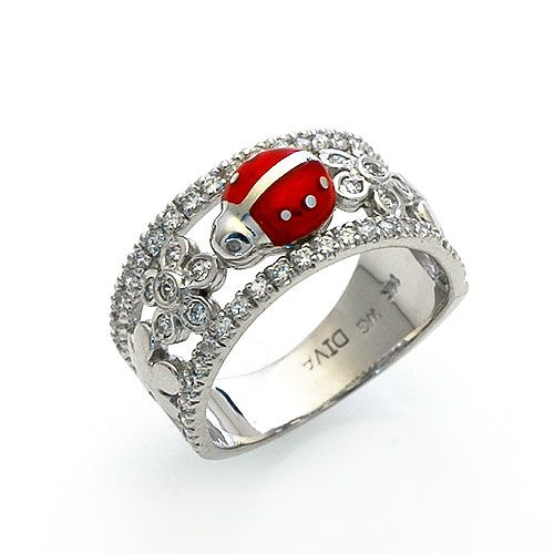 Ladybug ring                                                                                                                                                                                 More