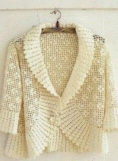 Tina's handicraft : crochet bolero