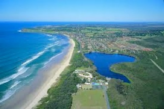 Lake Ainsworth, Lennox Head, NSW Australia