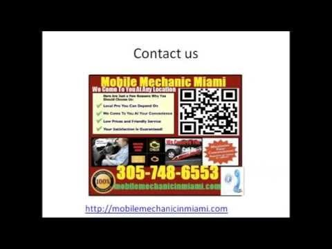 Mobile Mechanic OpaLocka FL auto car repair service shop review that comes to you. Give us a call 305-748-6553 or visit us at http://mobilemechanicinmiami.com/auto-repair-service-in-opa-locka-florida-shop-on-wheels/