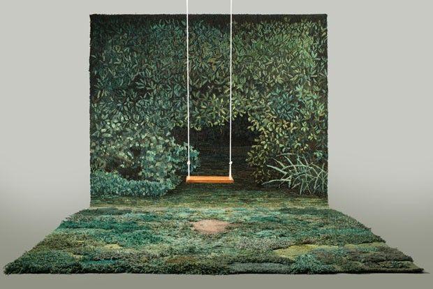Designer argentina cria paisagens incríveis com lã