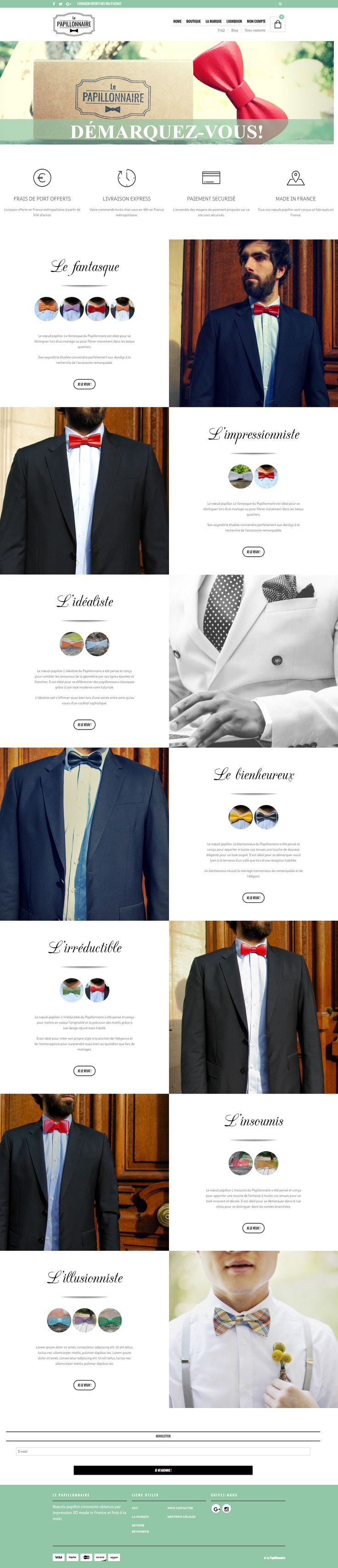 lepapillonnaire.com, powered by the top-selling premium WordPress theme, The Retailer #wordpress #ecommerce #showcase #coolsites #ecommerce  https://themeforest.net/item/the-retailer-responsive-wordpress-theme/4287447?utm_source=pinterest.com&utm_medium=social&utm_content=papillonaire&utm_campaign=showcase