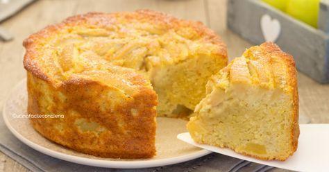 La torta melosa è un dolce sofficissimo, mele grattugiate dentro l'impasto, mele a pezzettini dentro l'impasto e mele sopra rendono questo dolce favoloso!