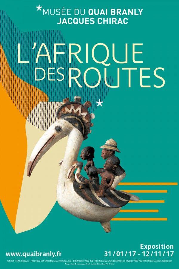 L'Afrique des Routes au Musée du Quai Branly. Affiche