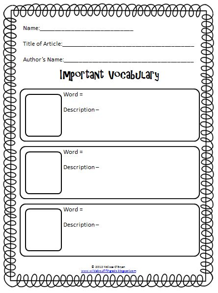 12 best School Stuff images on Pinterest Reading comprehension