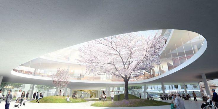 projeto de um hospital verde
