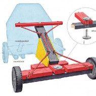 Speelgoedauto maken voor kinderen.