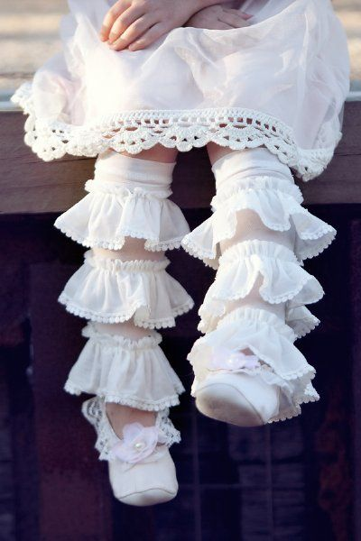 Dollcake 2013 Ballet Slippers & Ruffle Footless TightsNewborn to 10 YearsNow in Stock!