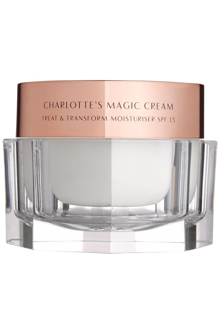 "And makeup artist Nick Barose, whose clients include Lupita Nyong'o and Kate Mara, loves Charlotte Tilbury's Magic Cream. ""It adds an instant glow so you need less foundation."" Charlotte Tilbury Magic Cream, $95, bergdorfgoodman.com.  Courtesy  - HarpersBAZAAR.com"