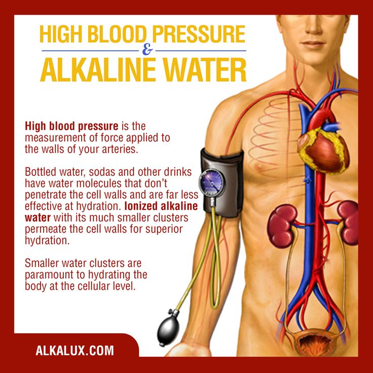 High Blood Pressure and Alkaline Water | For more info about Alkaline Water: http://www.alkalux.com/knowledge-base/about-alkaline-water.html