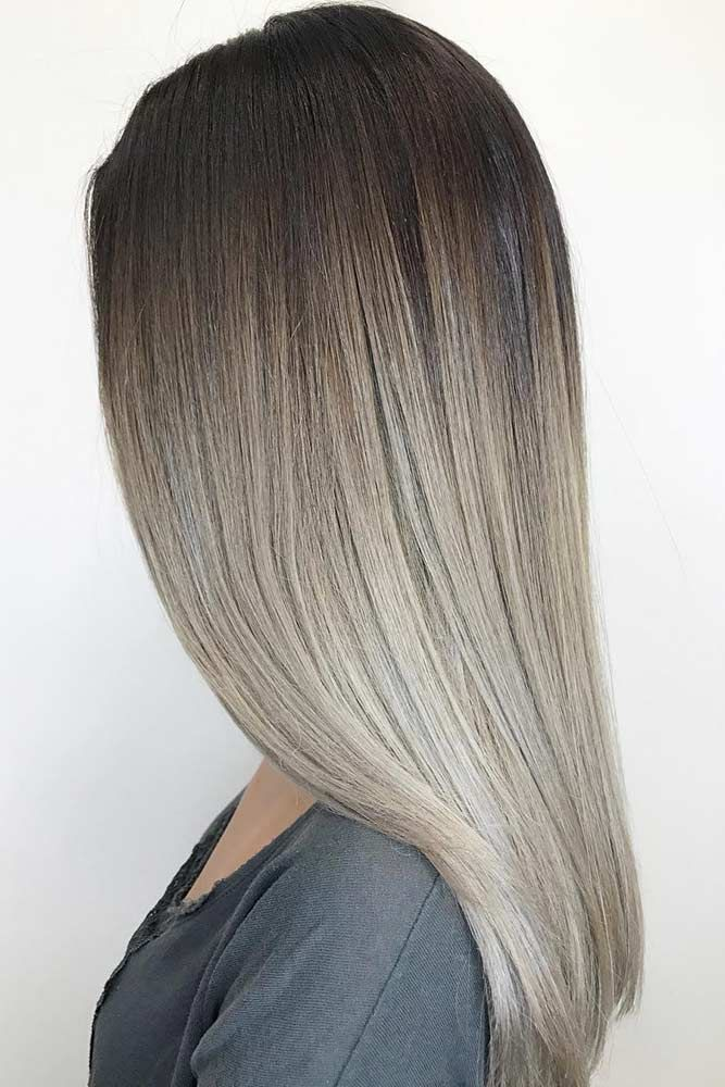 Ash blonde hair is quite popular these days. You will just need to pick the flat...