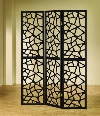 Amazon.com: Intricate Mosaic Three Panel Folding Screen   Room Divider:  Home U0026