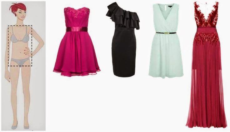 O vestido ideal para seu tipo de corpo!
