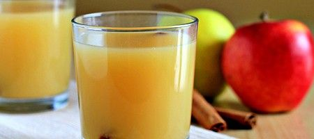 Горячий яблочный сидр со специями