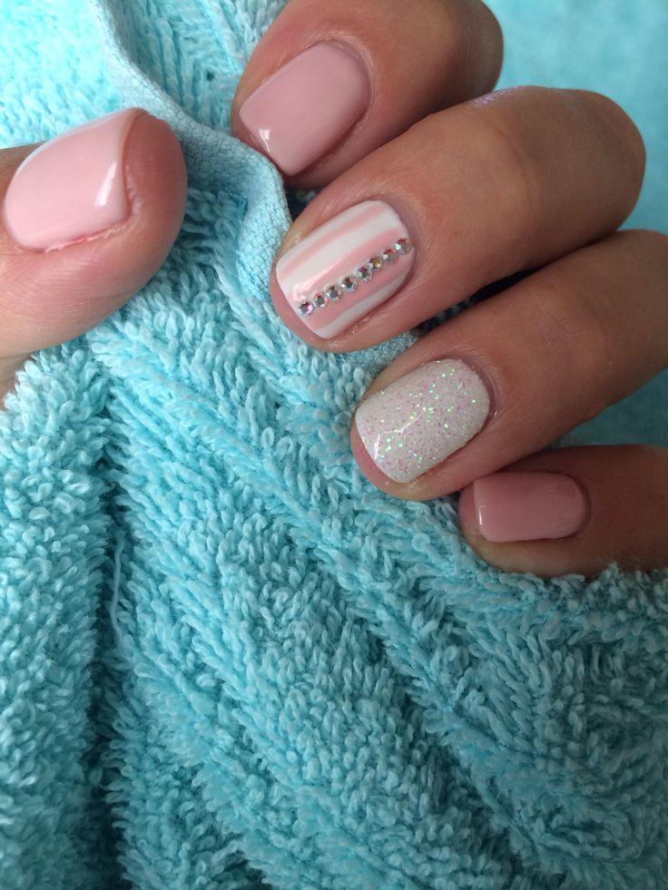 #Pink_dream! #swarovski #glitter_dust