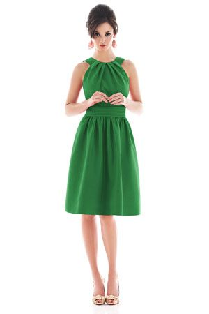 green dress-----so simple---so pretty