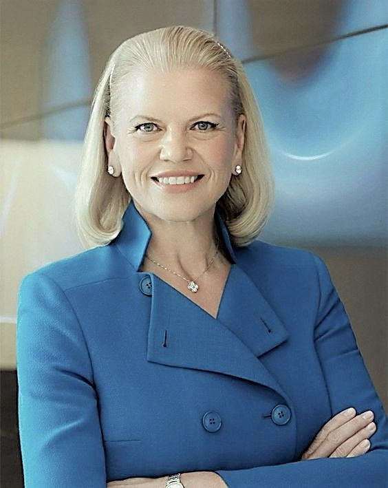 ONE OF THE MOST POWERFUL WOMEN IN BUSINESS Ginni Rometty, CEO IBM
