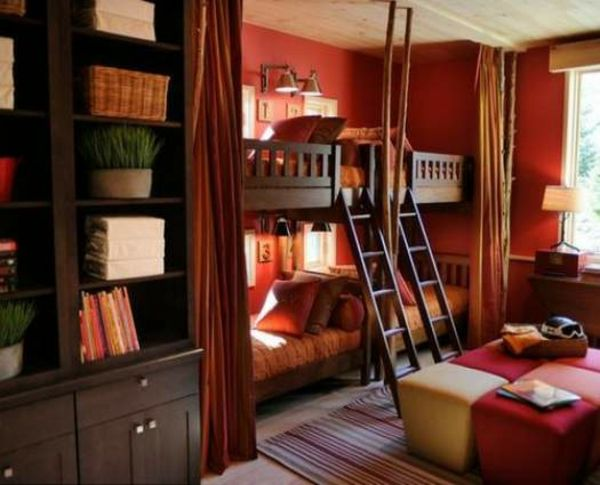 les 25 meilleures id es concernant lit superpos double sur pinterest lit double mezzanine. Black Bedroom Furniture Sets. Home Design Ideas