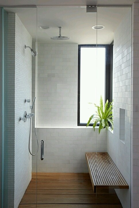 Bathroom design--Make it a little wider and it could meet ADA standards while looking great