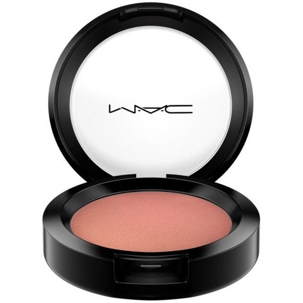 Mac Make You    Mine Pro Longwear Blush ($27) ❤ liked on Polyvore featuring beauty products, makeup, cheek makeup, blush, make you mine y mac cosmetics