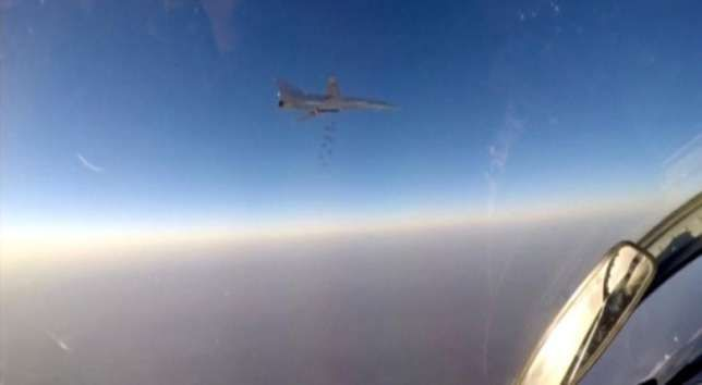 Russia Country bombs Syrian militants from Iran base for first time   Russian bombers based in Iran on Tuesday struck militant targets inside Syria the Russian Defence Ministry said after Moscow deployed Russian aircraft to an Iranian air force base to widen its campaign in Syria.  The ministry said the strikes by Tupolev-22M3 long-range bombers and Sukhoi-34 fighter bombers were launched from Iran's Hamadan air base.  It is thought to be the first time that Russia has struck targets inside…