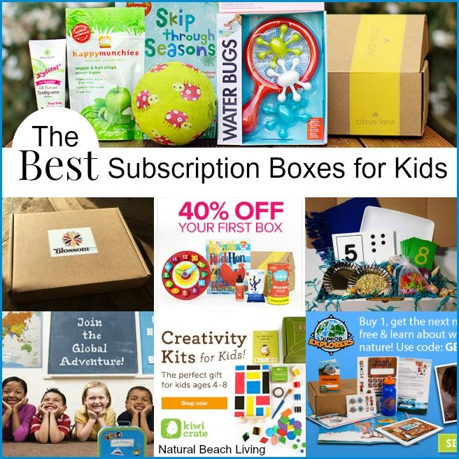 Are looking for something new and exciting for the summer or a year long adventure for the kids, you will find the best monthly subscription boxes here.