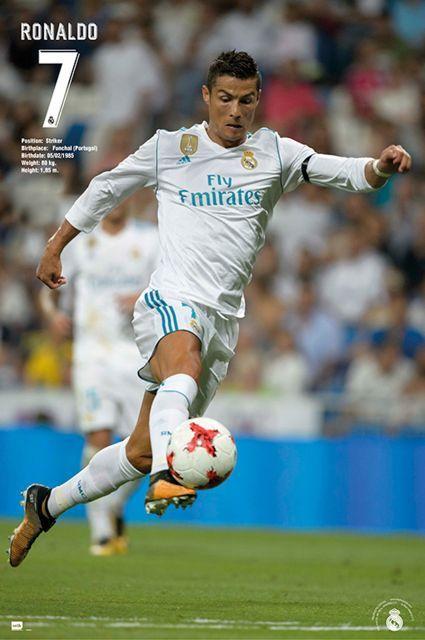 Plakat Real Madrid Ronaldo 61x91,5 cm. Gdzie kupić? eplakaty.pl
